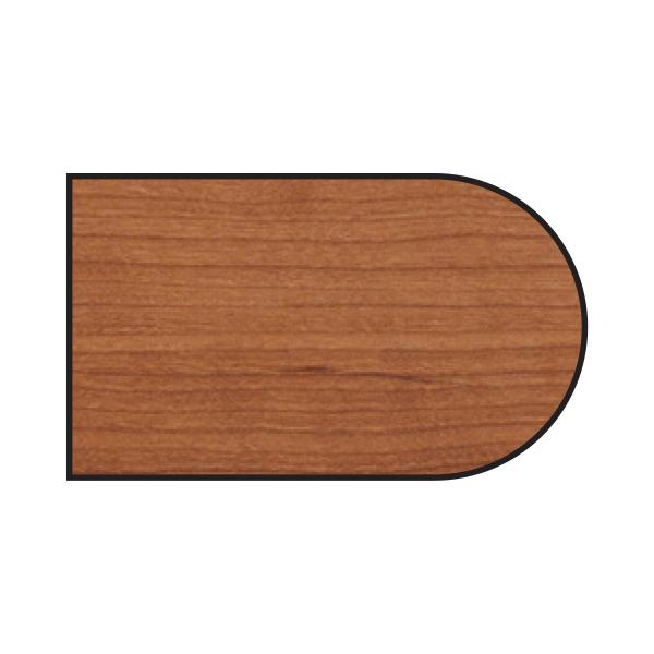 D-shaped