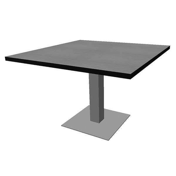 VertiGo square with square disc base