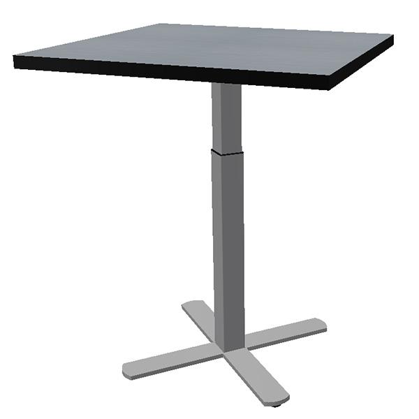 VertiGo square with height adjustable X-base