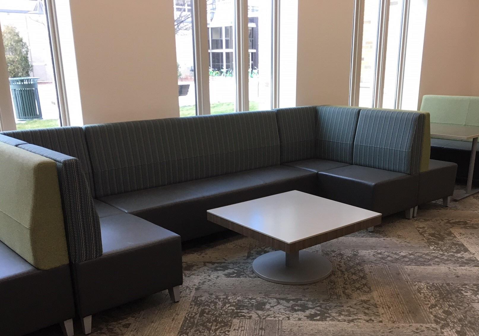 Classroom with conference table